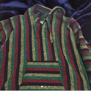 Other - Confecciones Artilana Men Hippy Baja Hoodie Jacket